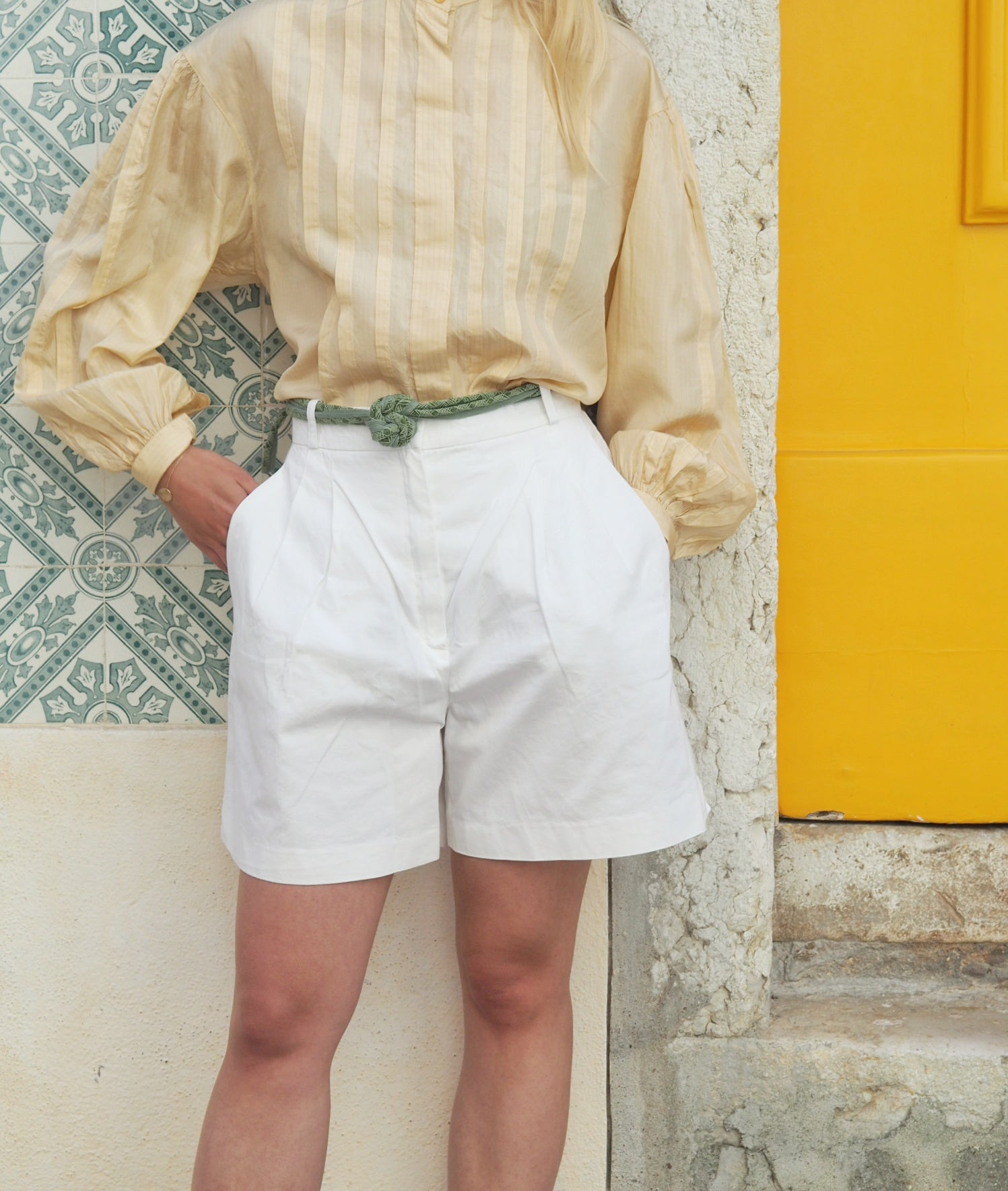 Vintage Max Mara Cotton Shorts
