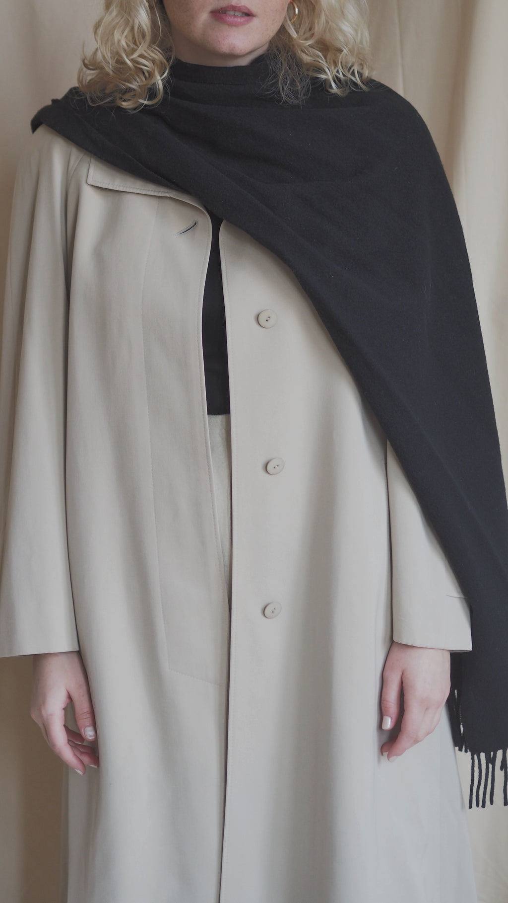 Vintage New Wool Coat