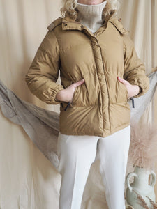 Max Mara Weekend Hooded Quilted Down Jacket