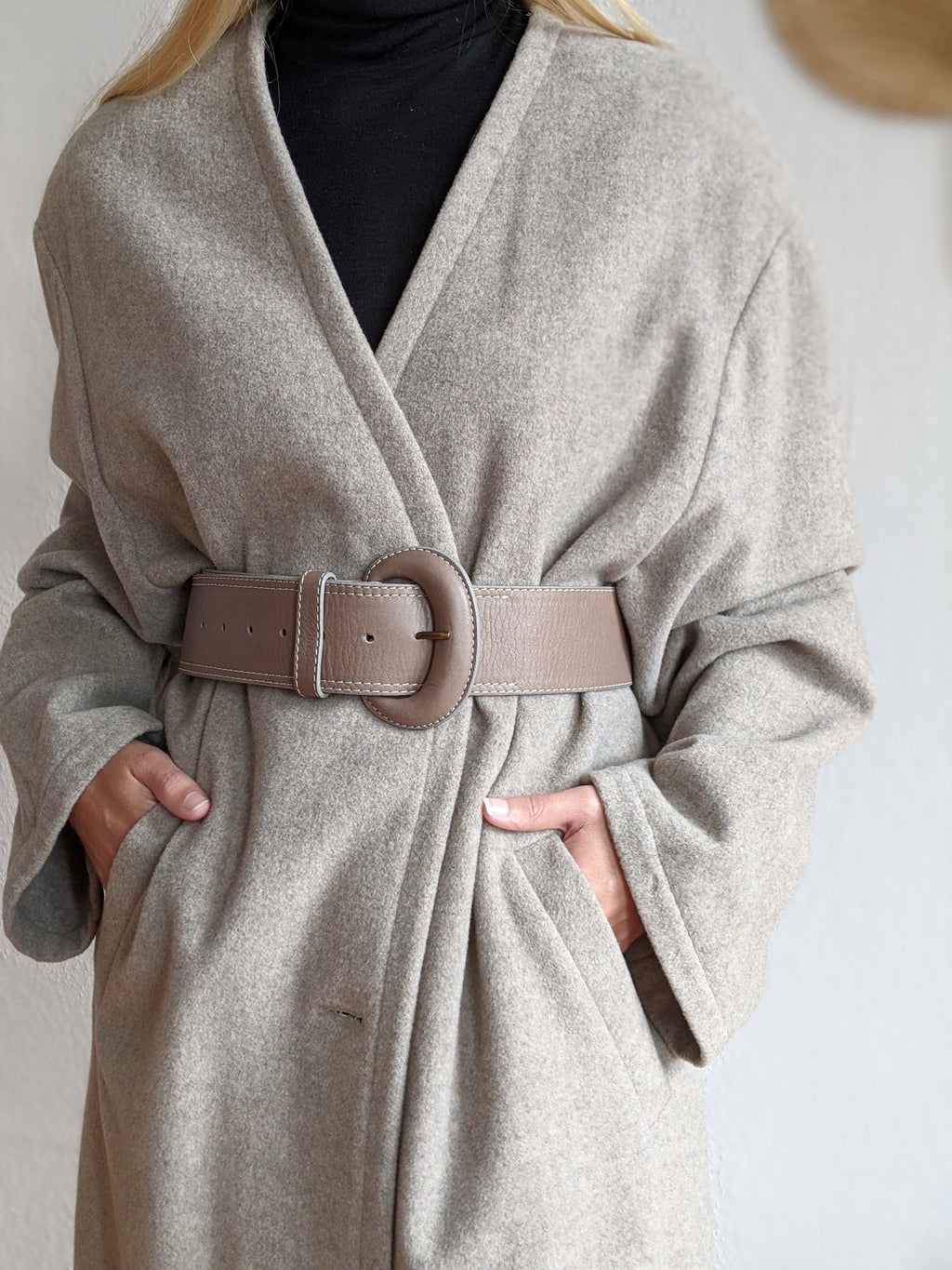 Long New Wool Coat