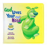 God Loves Your Nose Bath Book