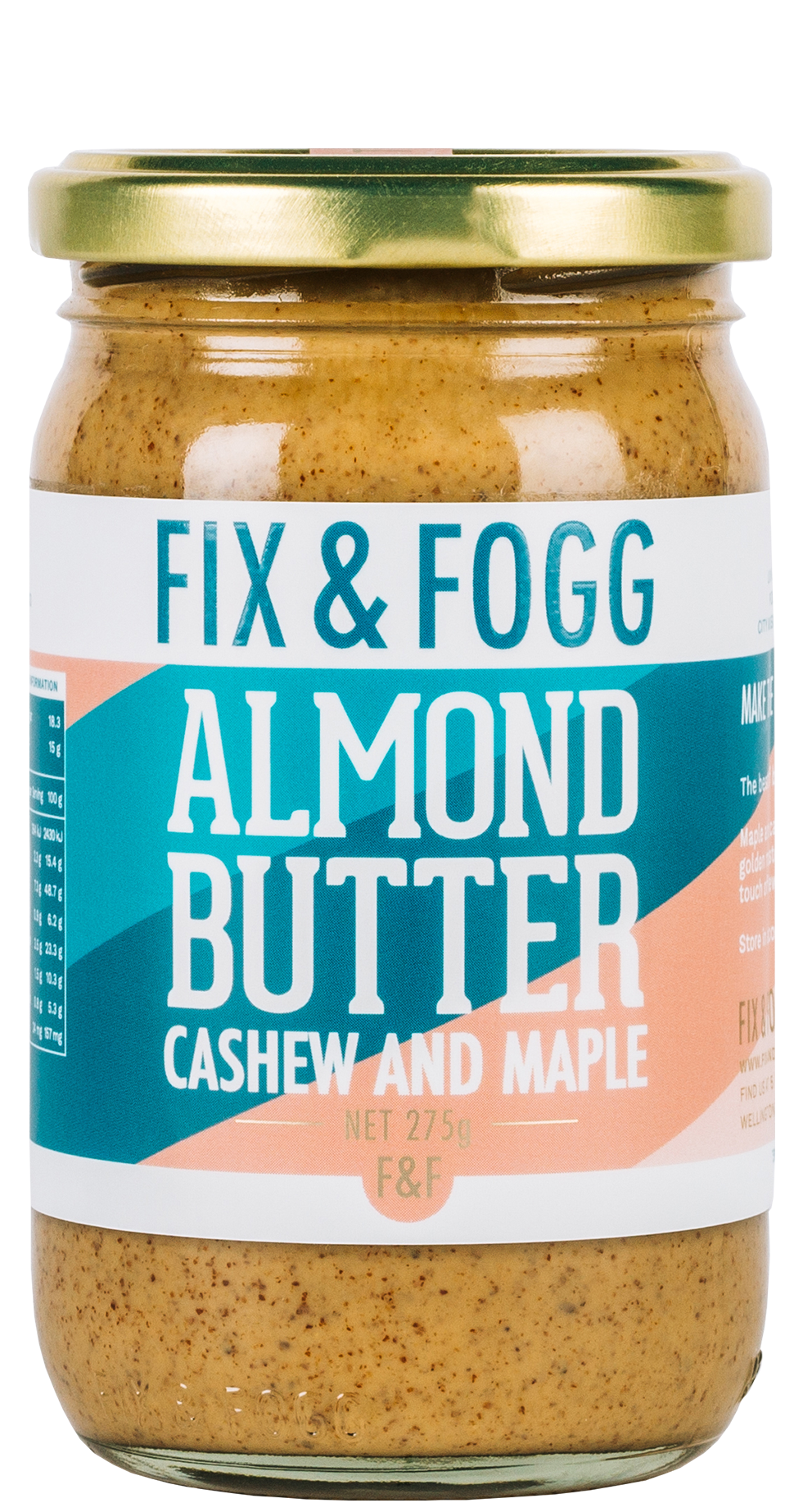 Almond Butter with Cashew and Maple 275g