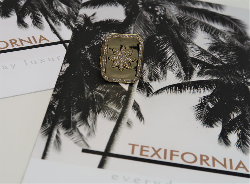 DALLAS COLLECTION STARBURST STATEMENT RING