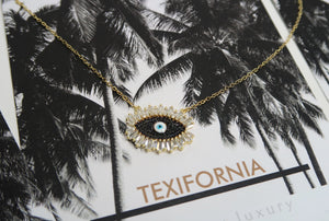 LUXURY COLLECTION LIMITED EDITION NOIR EYE NECKLACE
