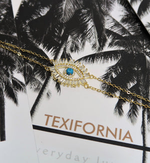 SIGNATURE CRYSTAL EYE BRACELET