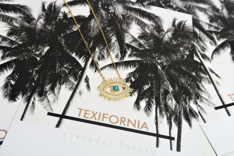 TEXIFORNIA SIGNATURE NECKLACE - CALABASAS LUXURY COLLECTION