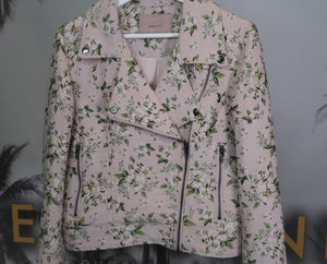 Everyday Luxury Sequin Floral Jacket