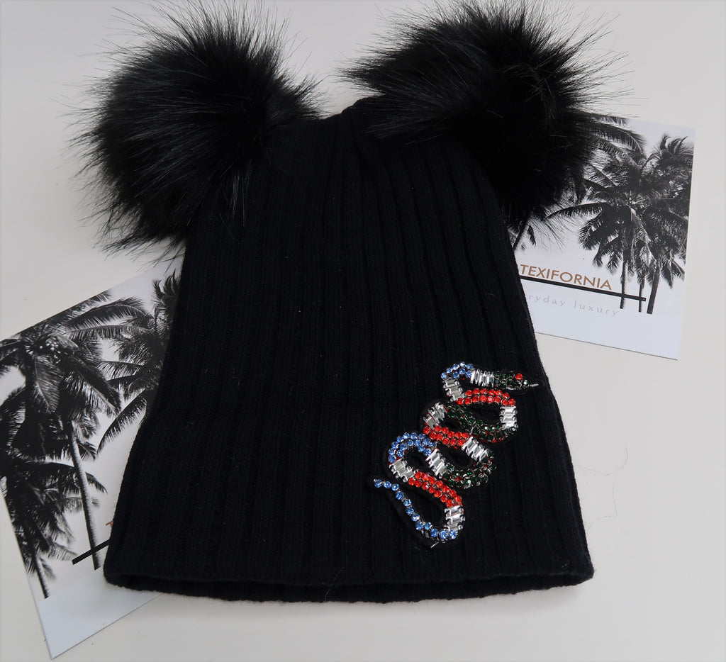 CRYSTAL SNAKE HAT
