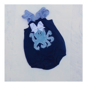 Octopus bubble romper