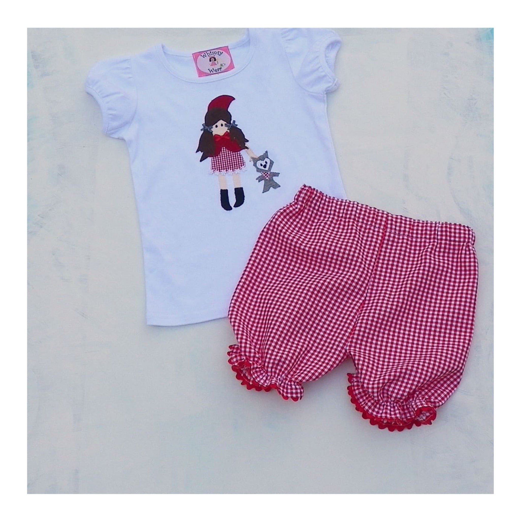 The Wolf Puff Shorts Set