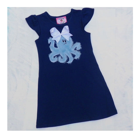 Octopus flutter dress
