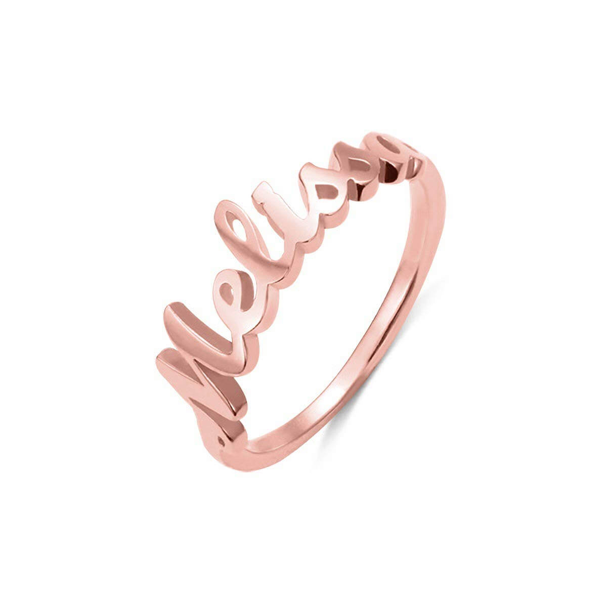 925 Sterling Silver Personalized Name Ring For Women