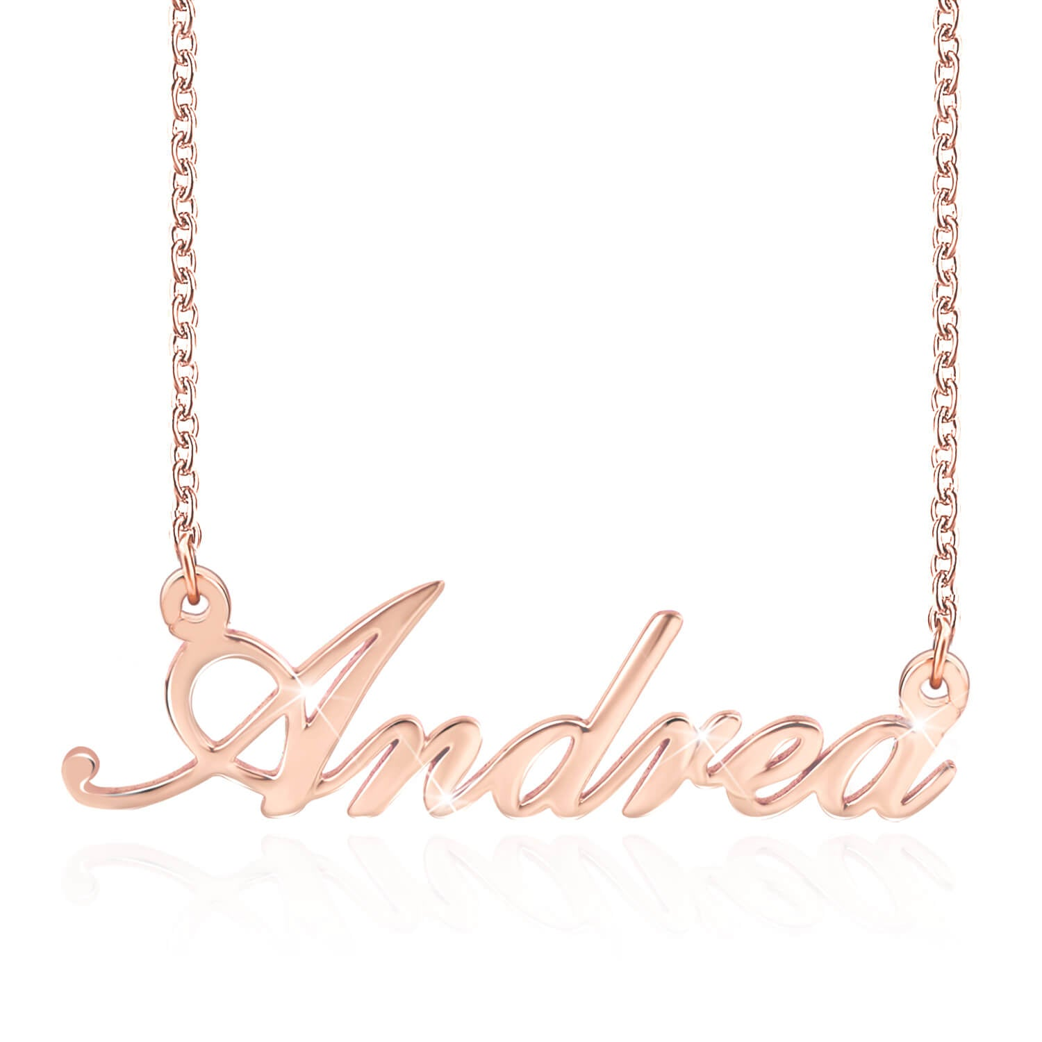 Custom Name Necklace 18K Gold Plated New Arrivals