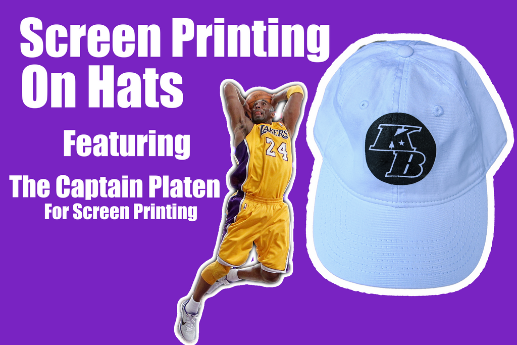 How to Screen Print on a Hat || Kobe Bryant Tribute