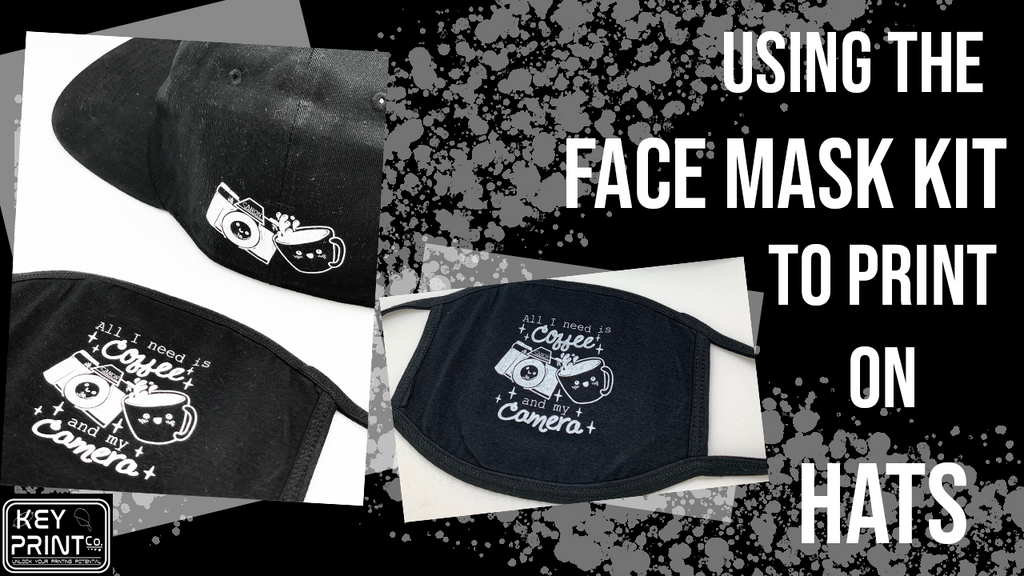 How-To: Using the Face Mask Kit to Print on Hats