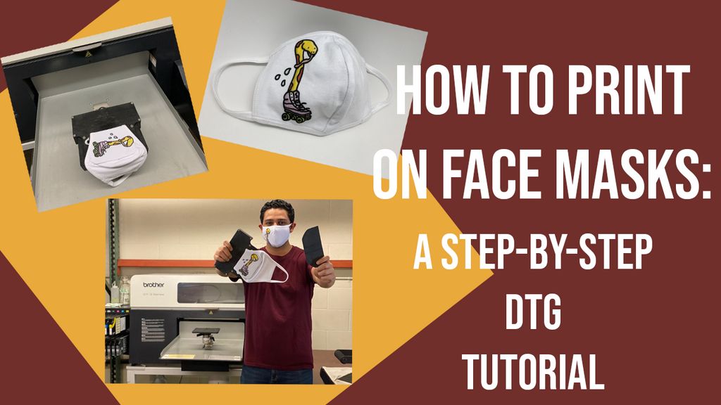 How-To DTG Print On Face Mask
