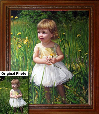Portrait Paintings from Photos