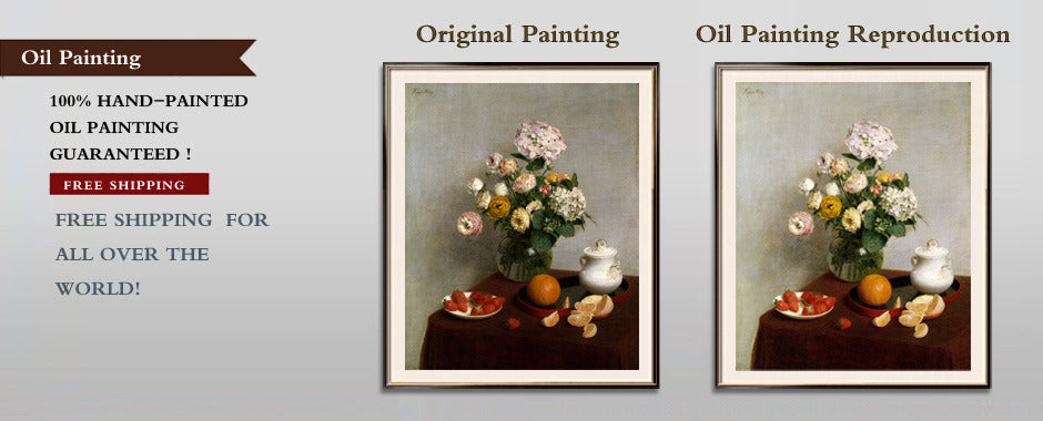 Oil Painting Reproduction from Masterpieces