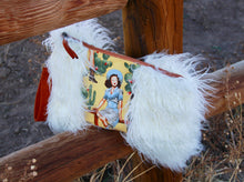 Load image into Gallery viewer, Retro Cowgirl Clutch Yellow