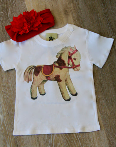 Mini Horse Girls Tee