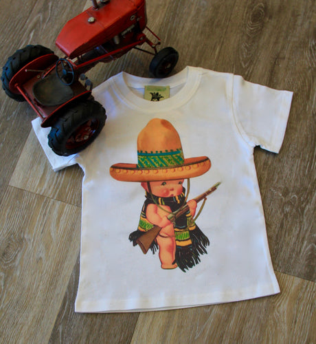 Mexican Soldier Boys Tee