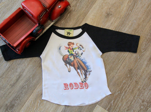 Rodeo Boys Baseball Shirt