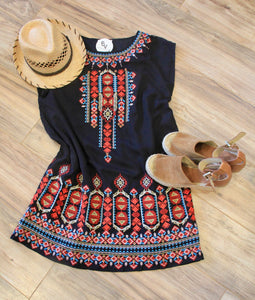 Cabo Embroidered Dress