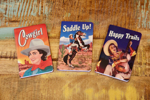 Cowgirl Notebook Set