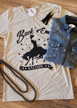 Load image into Gallery viewer, Buck'Em Graphic Tee