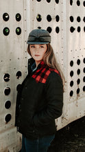 Load image into Gallery viewer, Presley Plaid Branding Jacket