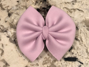Bubble Lavender Swim Bow