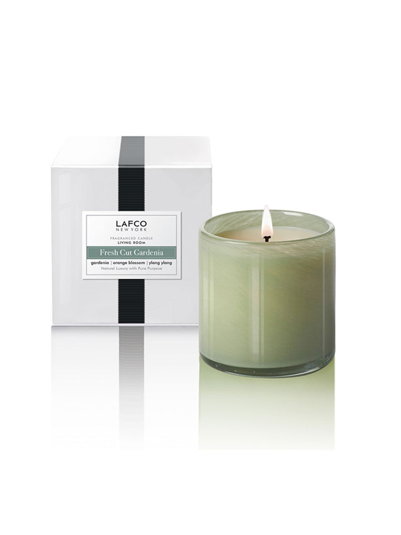 LAFCO Fresh Cut Gardenia Signature 6.5oz Candle