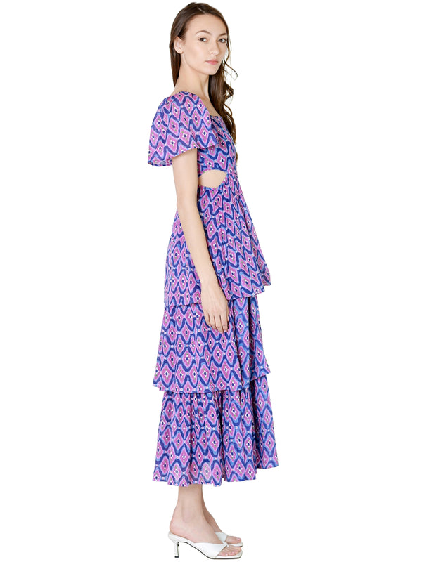 Misa Narcissa Dress In Enchanted Floral