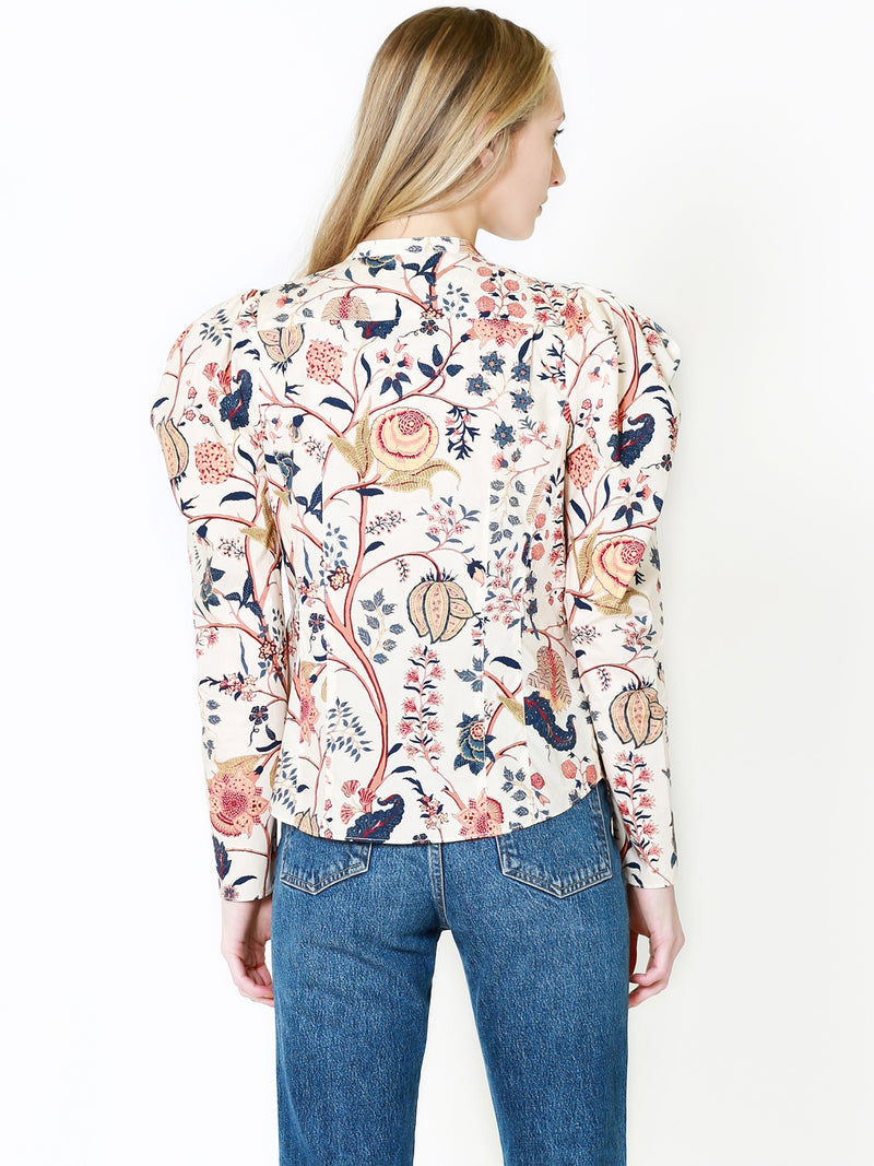 Ulla Johnson Harriet Blouse In Daisy