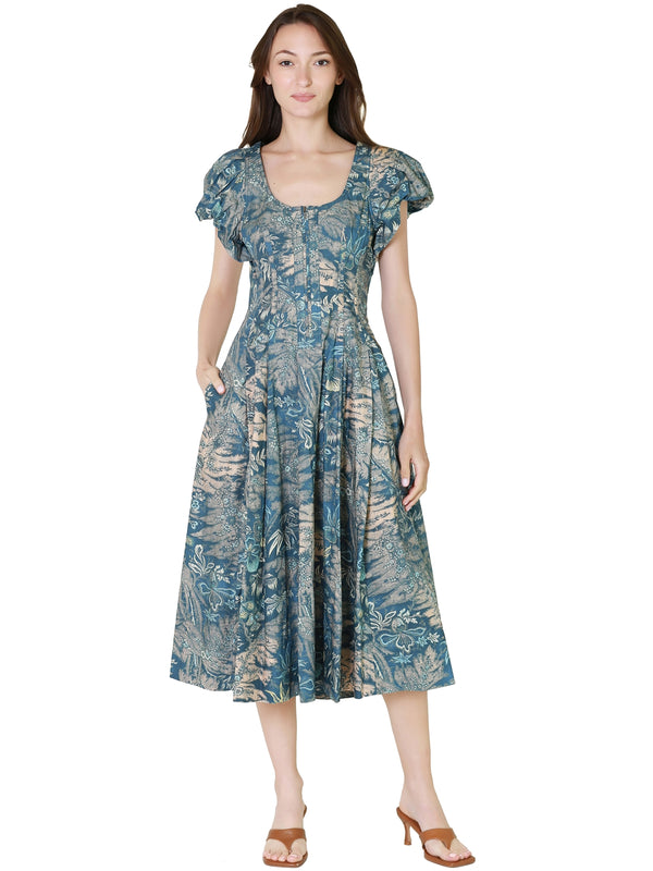 Equipment Leema Blouse in Blue Electrique