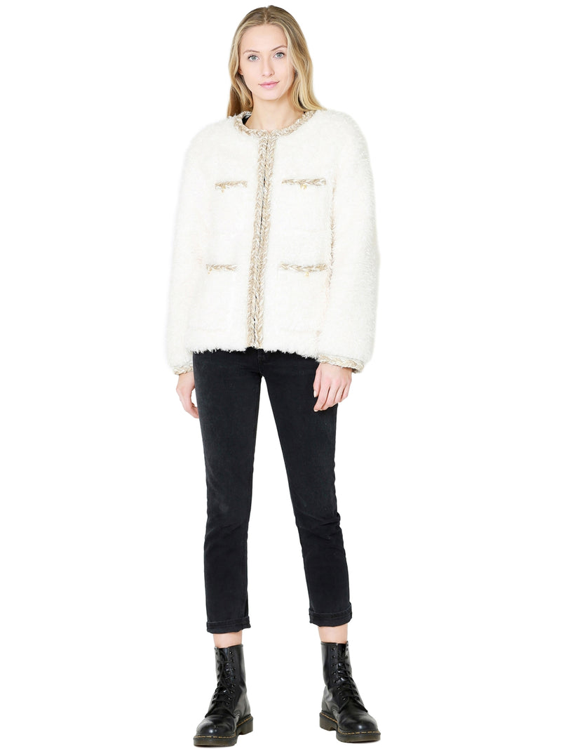 Sympathique Lyam Jacket In White