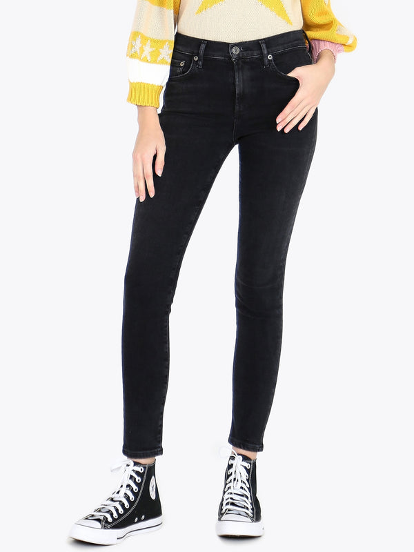 AGOLDE Sophie High Rise Skinny In Dark Room