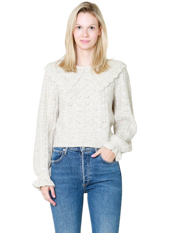 Sympathique Ezra Cashmere Sweater In Cornflower