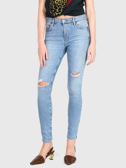 Agolde Sophie Mid Rise Skinny Ankle In Shirne