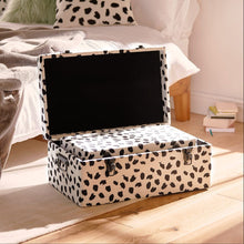 Load image into Gallery viewer, Set of 2 Storage Trunks - Dalmatian