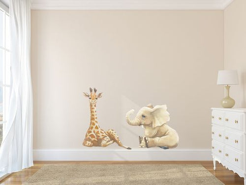 Safari Animal Wall Stickers