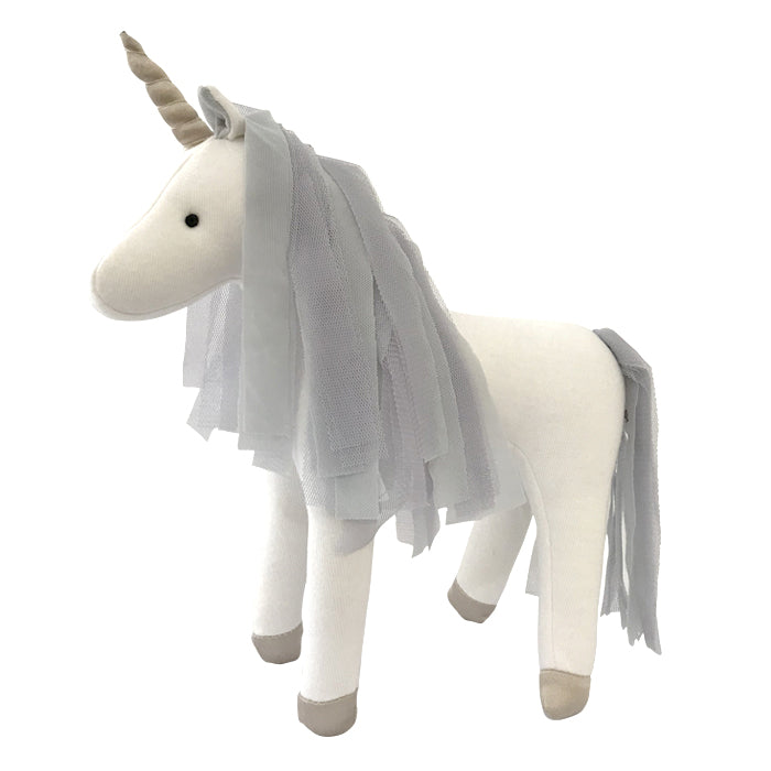 Spinkie Little Unicorn - Light Grey