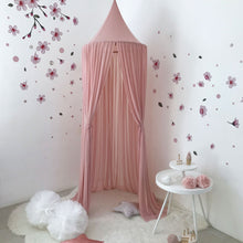 Load image into Gallery viewer, Spinkie Sheer Canopy - Dusky Pink