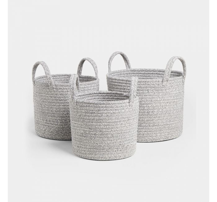 Set of Rope Baskets