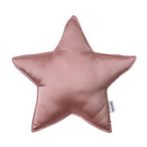 Spinkie Charmeuse Star Pillow  - Rose Gold