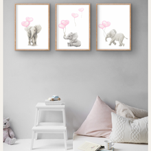 Load image into Gallery viewer, Sleeping Baby Safari Trio Wall Prints