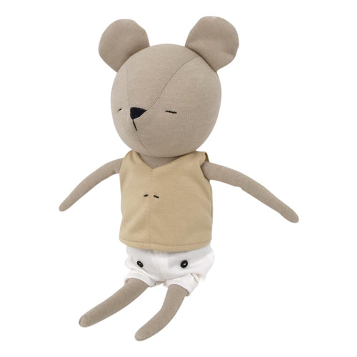 Spinkie Cafe Delice Collection - Mr Bear Soft Toy