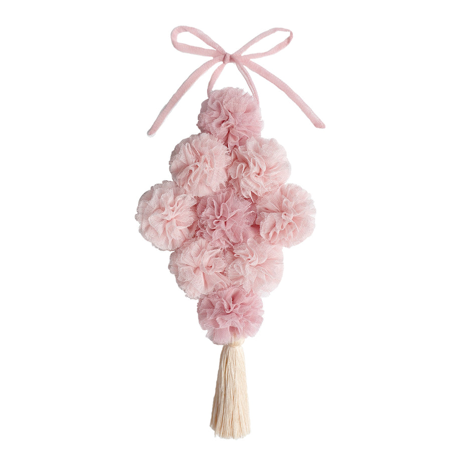 Pom Bouquet Garland - Light Pink and Blush