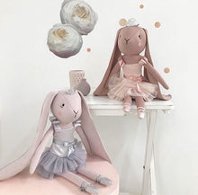 Load image into Gallery viewer, Spinkie Odette Ballerina Bunny - Grey