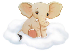 Safari Cloud Baby Wall Stickers - Colour Sets & Individual